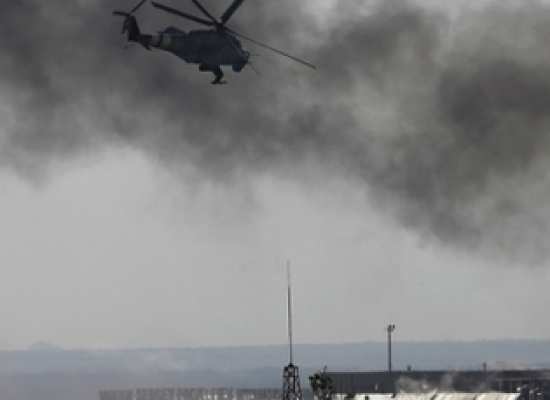Fake: Group of Religious People Burned to Death in Donetsk Airport