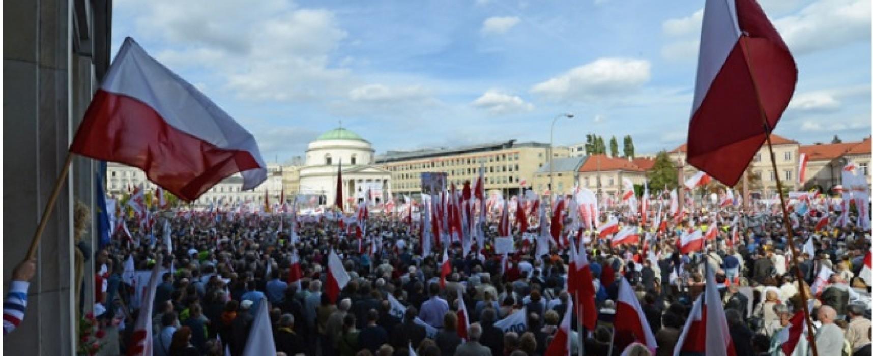 Ложь: в Тернополе прошел митинг за воссоединение с Польшей