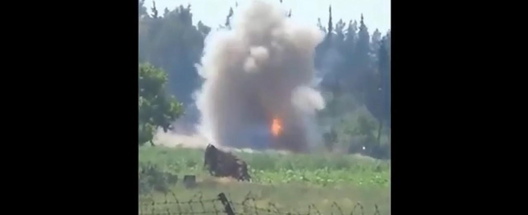 Видео из Сирии представляется как действия донецких «ополченцев»