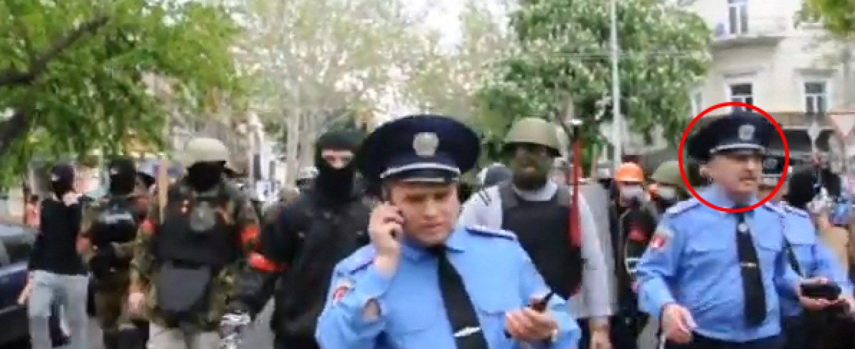 NTV Lies: Odessa Police High Command was not aware of Preparations for Conflicts of May the 2nd