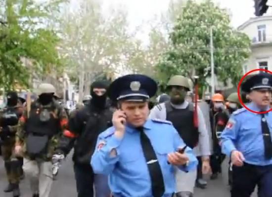 Ложь НТВ: руководство одесской милиции не знало о подготовке столкновений 2 мая