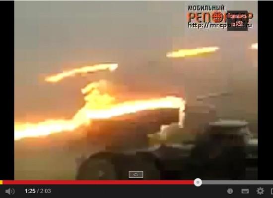 Видео с залпами российских «Градов» по Южной Осетии представили как события в Славянске