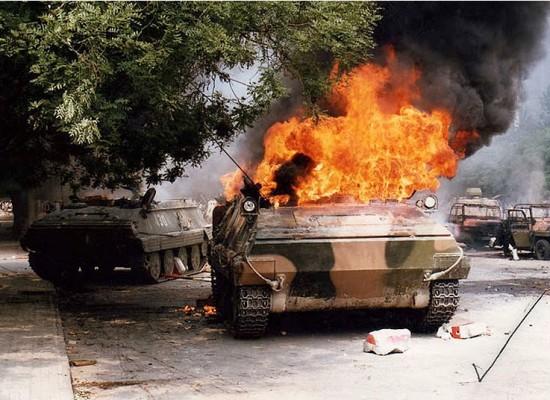 Фото 1989 года из Китая представляется как актуальные события на Донбассе