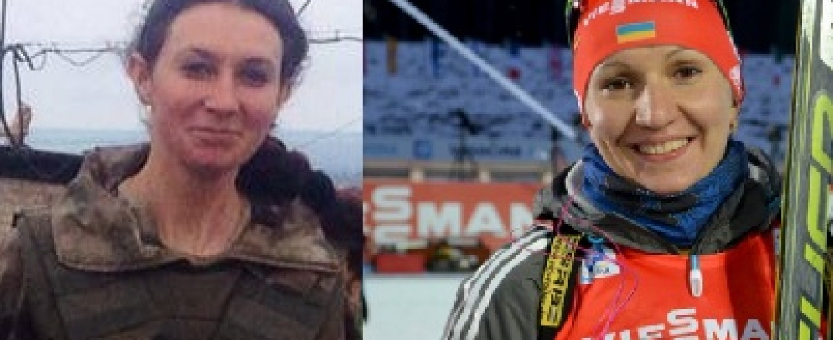 Fake: Ukrainian biathlonist Olena Pidhrushna kills children in Sloviansk