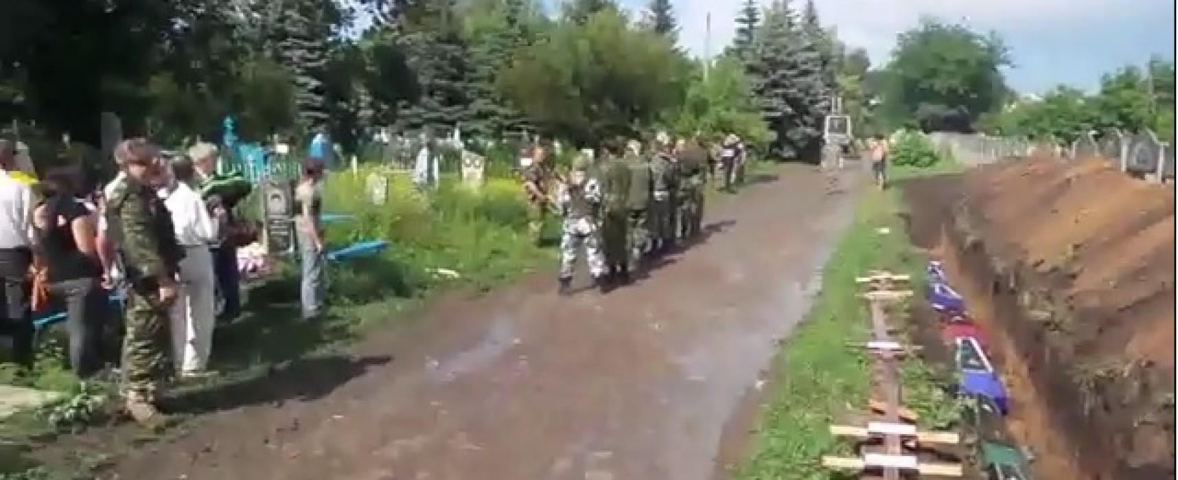 Ложь НТВ: в Славянске силовики расстреляли похоронную процессию