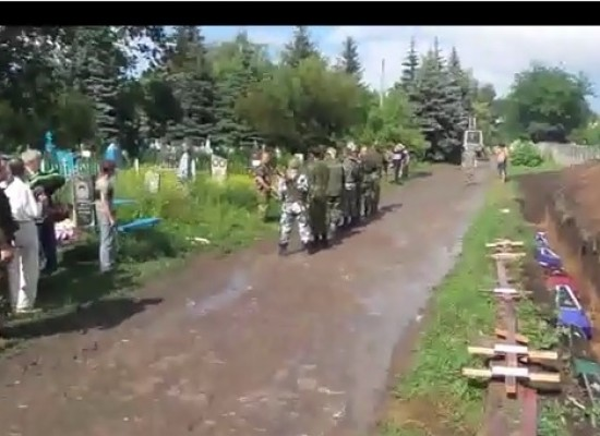 «NTV» Lie: Ukrainian Forces Attack the Funeral Procession in Slaviansk