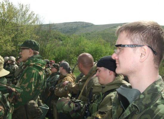 Крымские «боевики» оказались участниками военной игры страйкбол