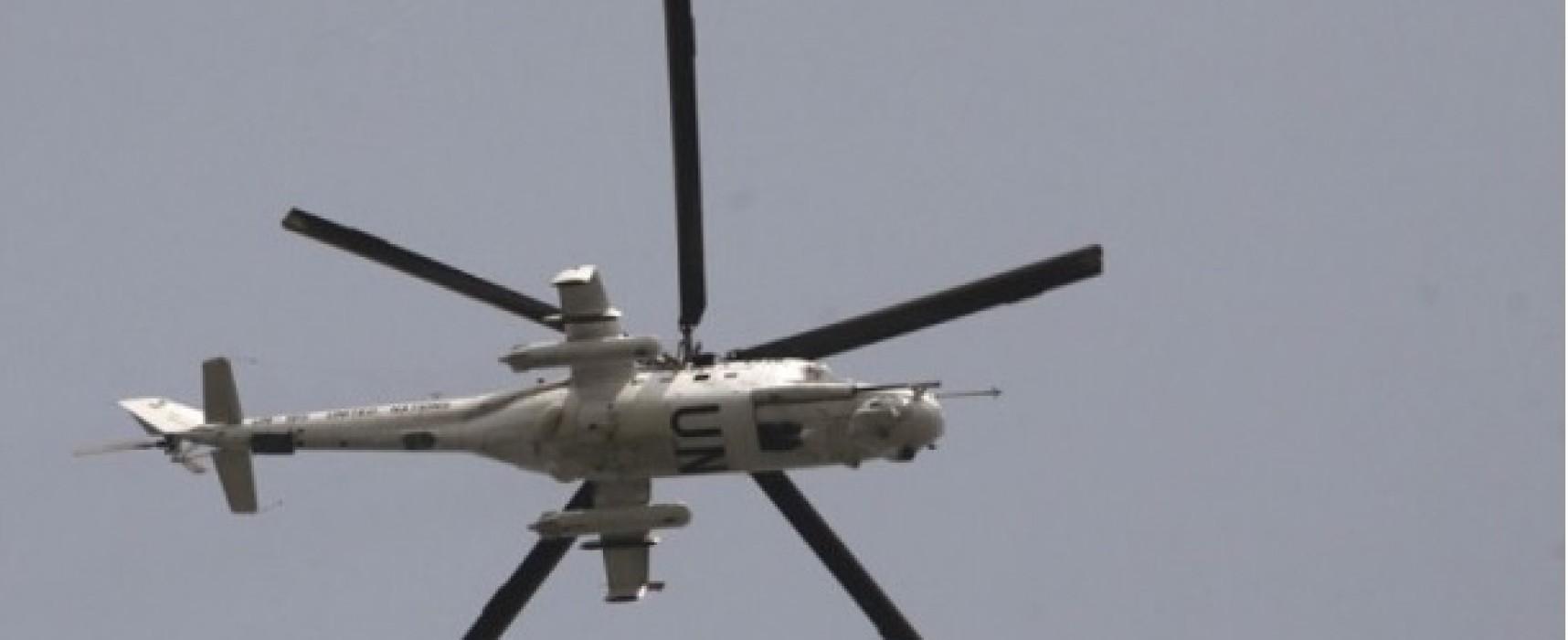 Российская делегация представила в ОБСЕ фейковое фото вертолета с символикой ООН в Украине