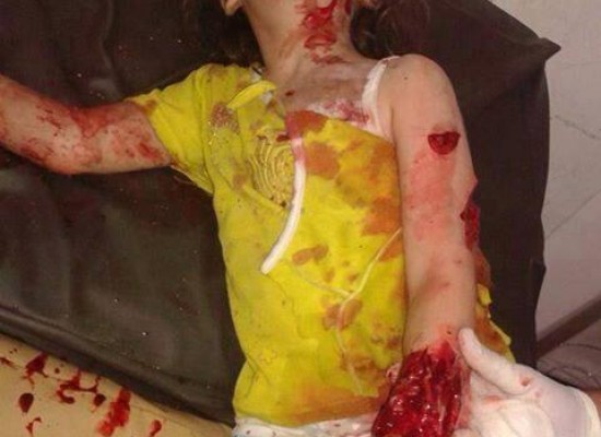Photo of Little Girl Killed in Syria is Presented as Photo of Victim in South-Eastern Ukraine