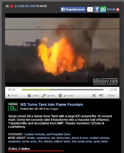 Скриншот сайта Military.com