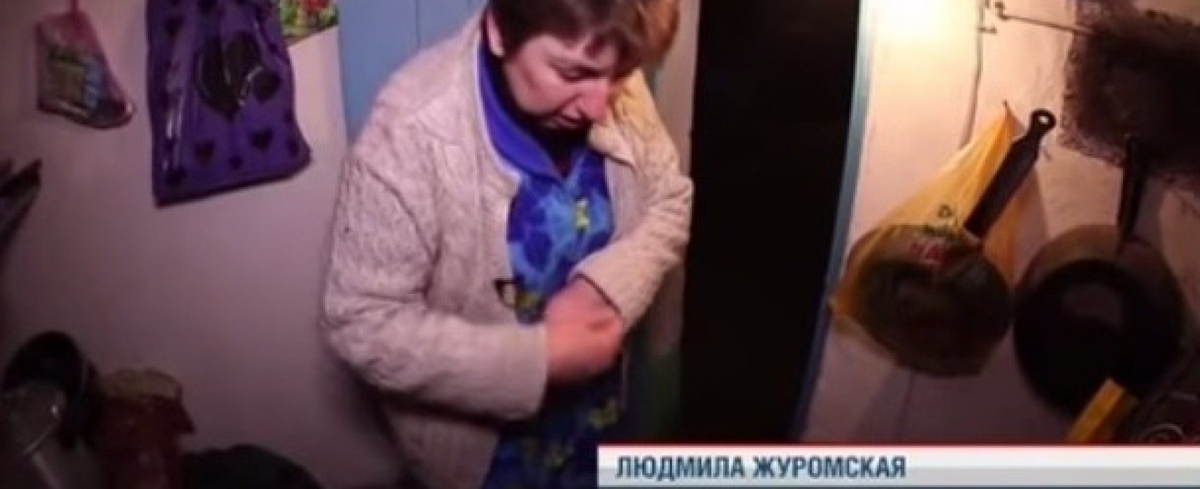 Ложь НТВ: жительницу Запорожской области представили как пострадавшую от бомбежек из Краматорска