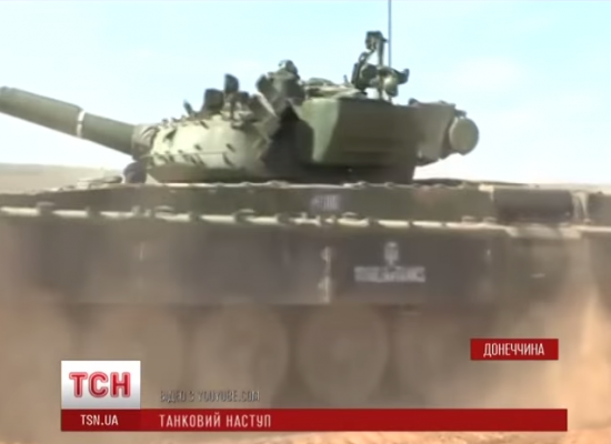 Multiple Mass Media Outlets Have Accused Channel 1+1 of Lying in Report on Russian Tanks in Ukraine.