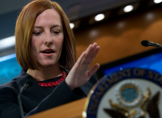 «Channel One» Makes Up Jen Psaki's Quotes about Ukrainian Refugees and Rostov Mountains