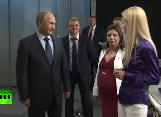 Оружие Путина в войне картинок: Russia Today
