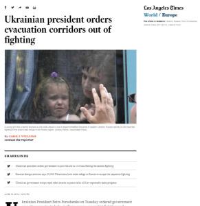 Скриншот сайта latimes.com
