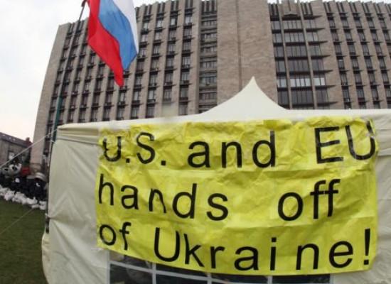Pro-Russian Separatist Supporters Seek Western Support On Social Media