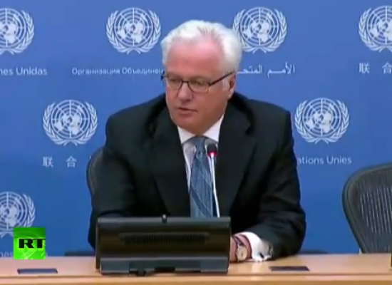 Churkin announced at the UN that the Verkhovna Rada of Ukraine is dissolved