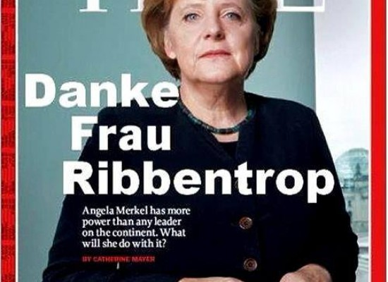 Social networks spread fake Time cover with Angela Merkel