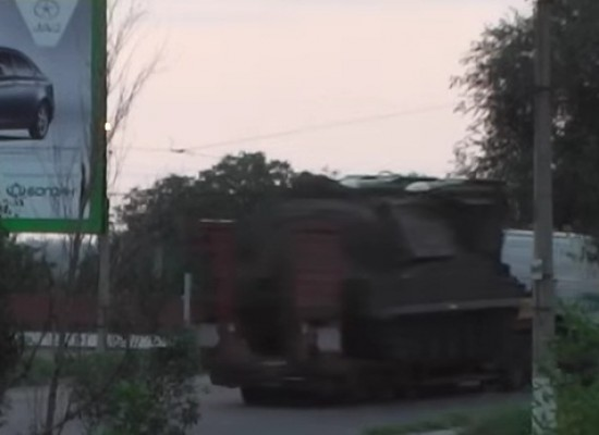 "Fake: Ukrainian army transported SAM ""Buk"" with one missing rocket on the territory controlled by Ukraine"