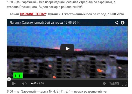 Скриншот сайта Informator.lg.ua
