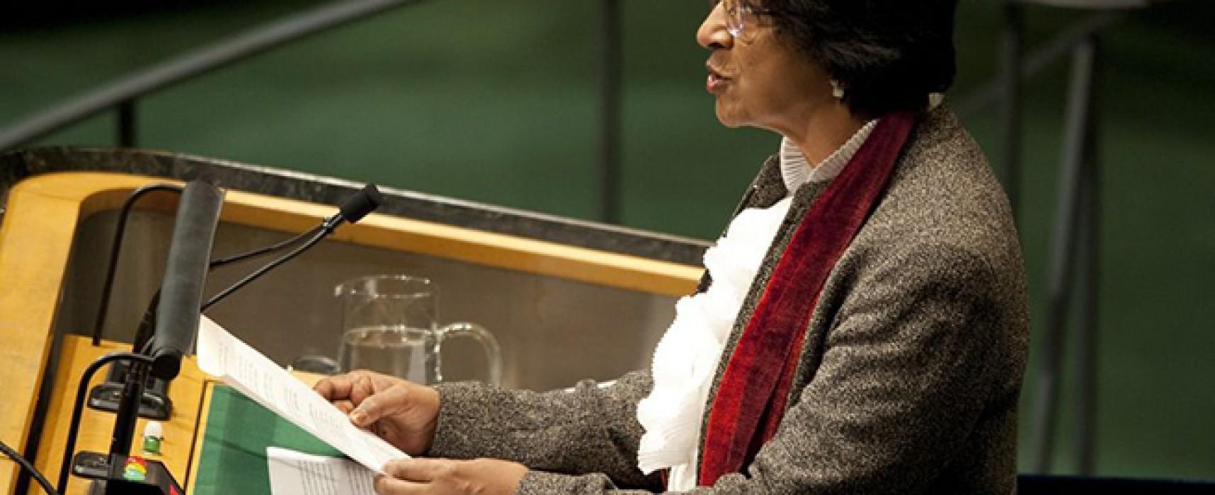 Офис Верховного комиссара ООН по правам человека не проводил исследования источников поставок вооружений сепаратистам