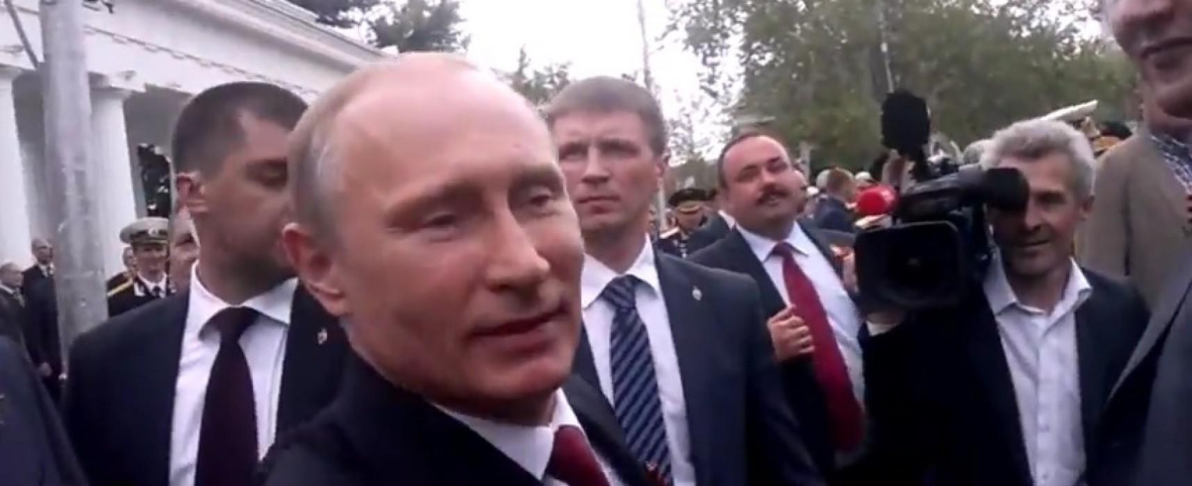 Майское видео из Севастополя представили как снятое в августе
