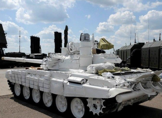"""Faked photos of Russian """"humanitarian"""" tanks at the Ukrainian border are being spread throughout social networks"""