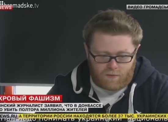 Russian video montage: 1.5 mln Donbas residents should be killed, Ukrainian journalist said