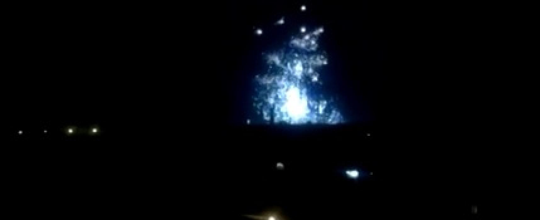 Ложь: видео фосфорных бомб над Донецком