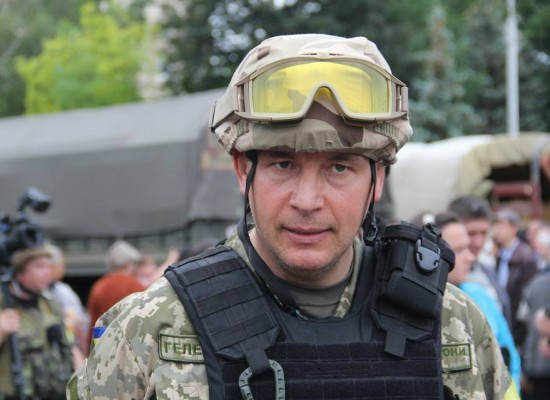 Lies: Ukrainian Minister of Defence Called for a New Counterinsurgency Operation