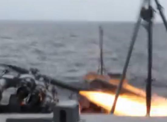 Фейк: украинские военные неудачно запустили ракету во время учений