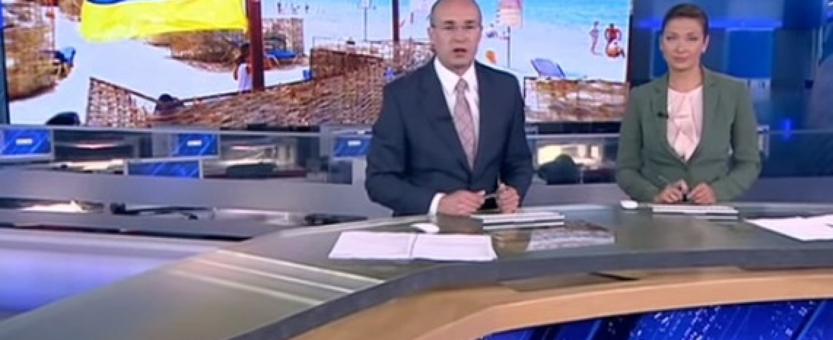 TV Channel Russia One Accused Ukrainian Tourists in Spoiling