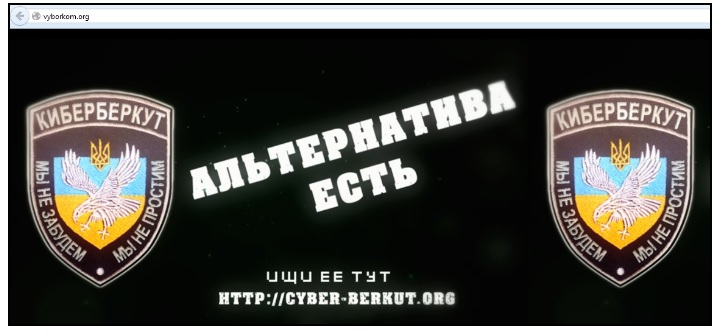 cyber-berkut.org website screenshot