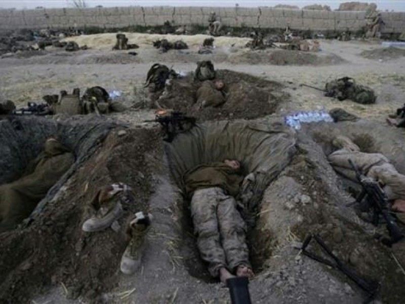 The Photo of American Infantrymen in Afghanistan is Presented as the Photo of Current Events in Ukraine