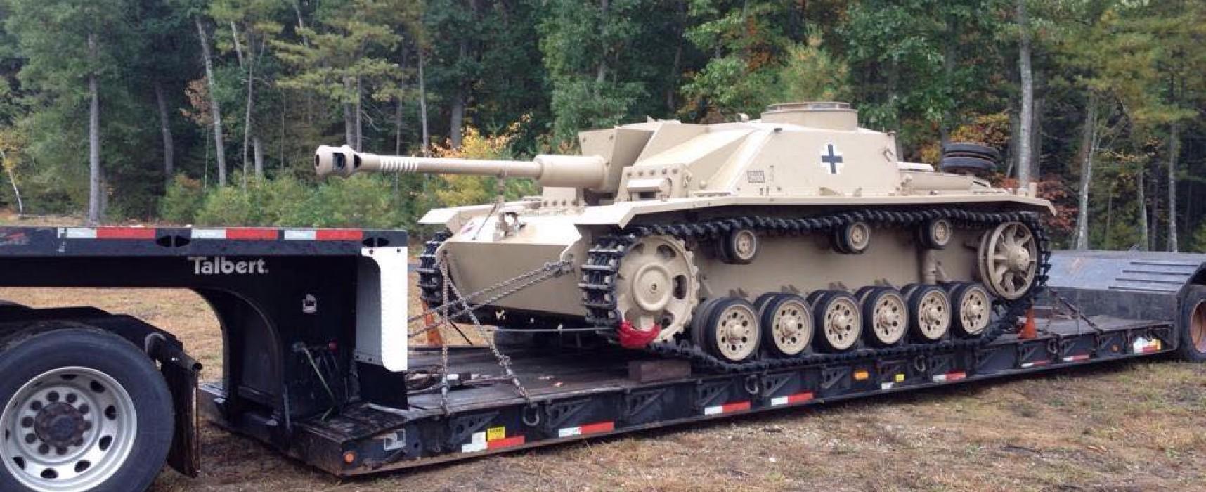 Фейк: Сын немецкого танкиста передал Украине благотворительную помощь в виде танка времен Второй Мировой войны (обновлено)