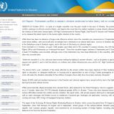 UN Reported Russian Mercenaries in Eastern Ukraine