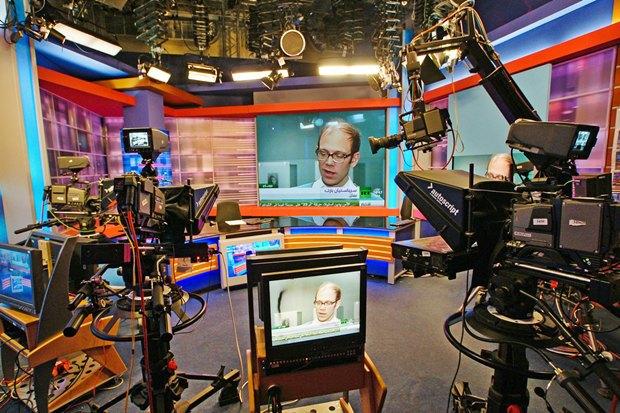 Студия вещания телеканала Russia Today на арабском языке (Москва). Скриншот сайта lookatme.ru