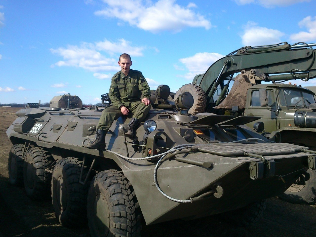 BT80 at the 53rd Anti-Aircraft Missile Brigade.