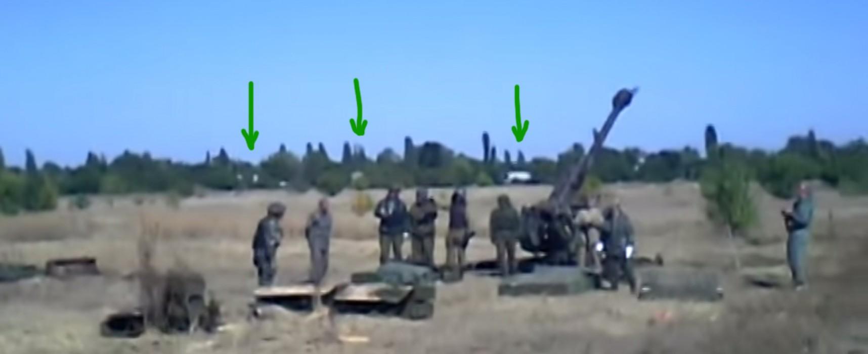 Warcrime: Graham Phillips documenting shelling of villages?