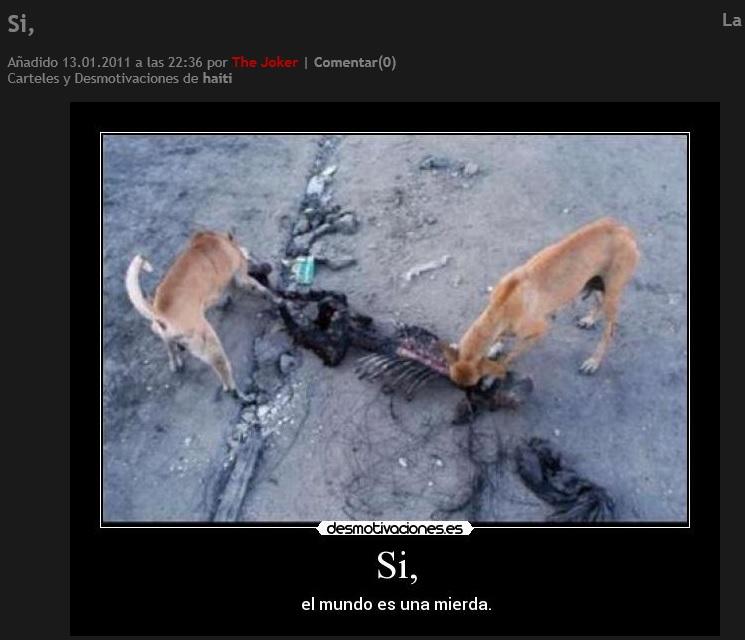 Скриншот сайта desmotivaciones.es
