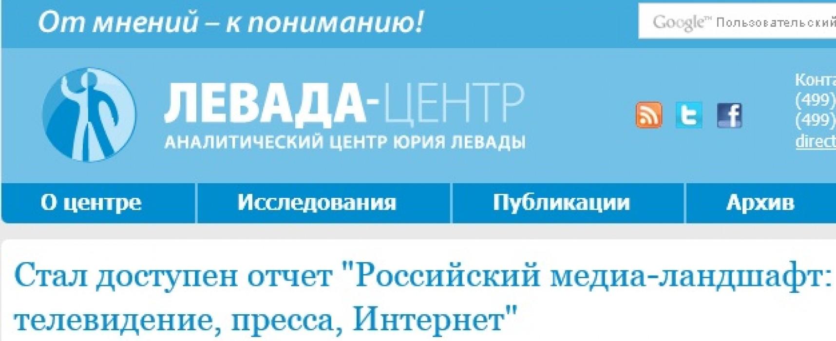 Источники получения информации об украинских событиях в России