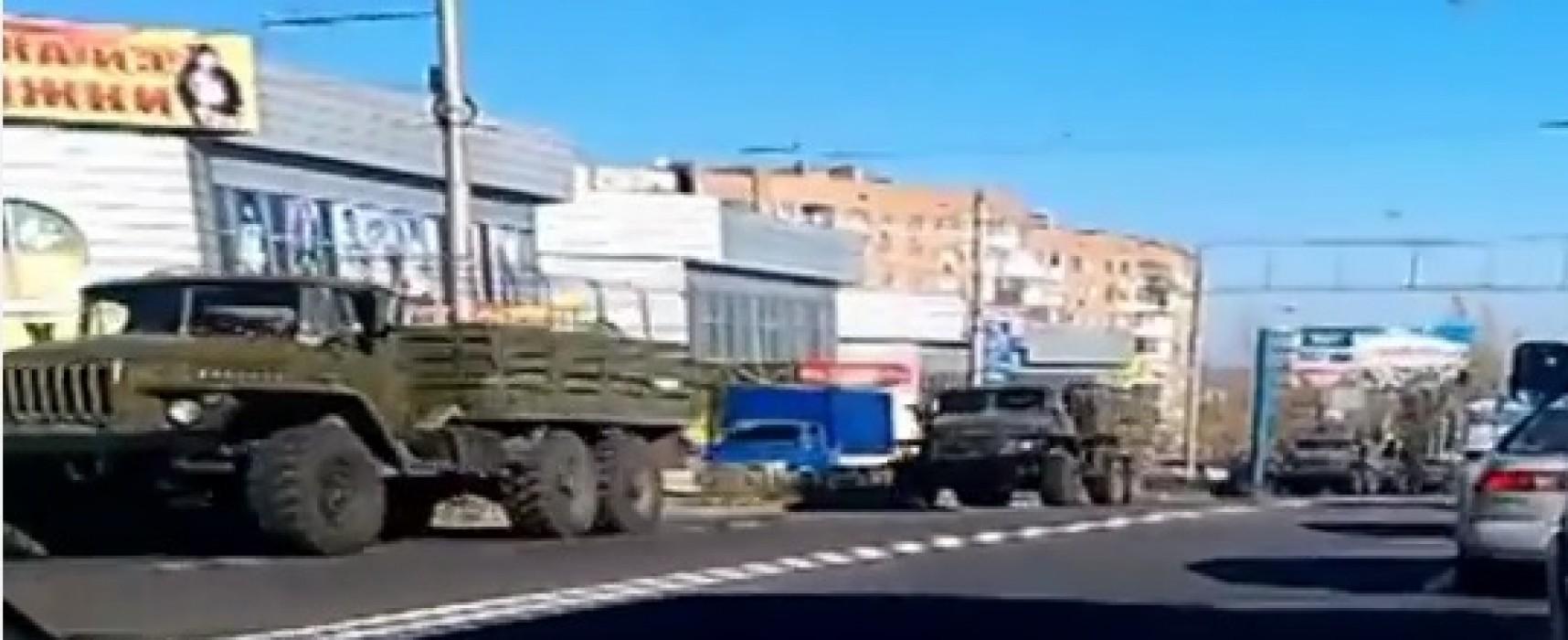 Видеофейк: Колонна «Град» украинской армии прибыла в Донецкую область