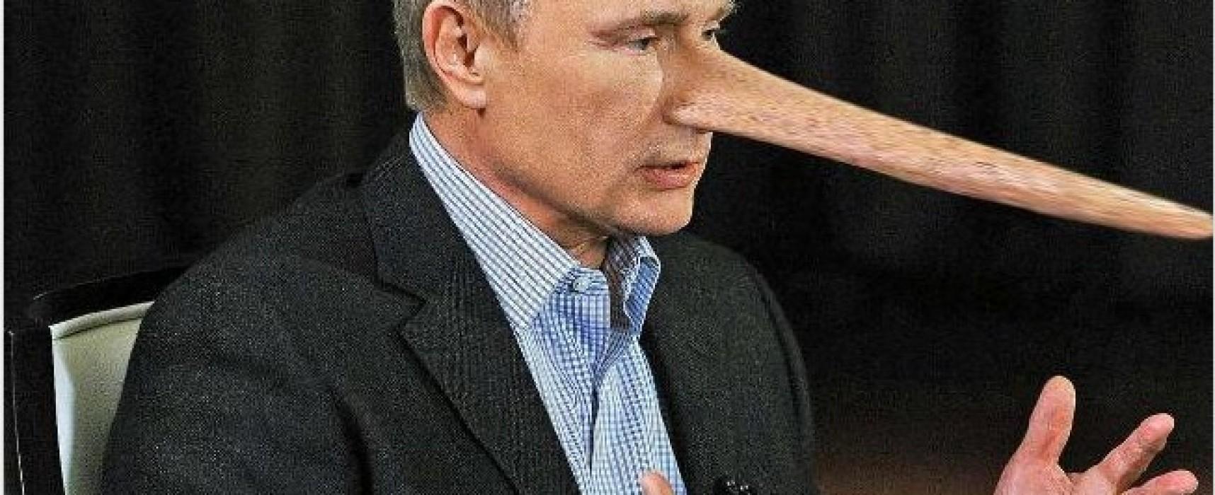 German Newspaper Found Lies in Vladimir Putin's Interview