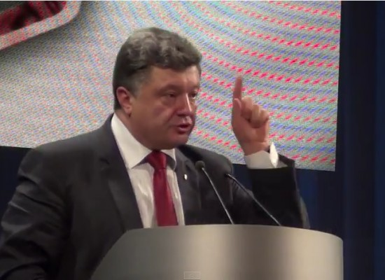 Lies: Petro Poroshenko Promised that Children from Donbas would be Sitting in Cellars