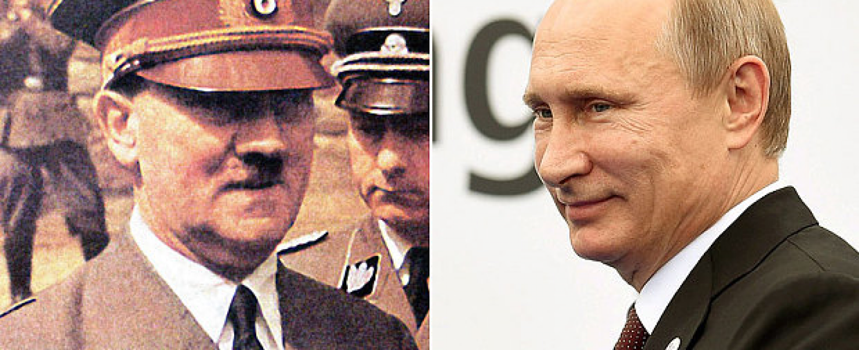 Vladimir Putin says there was nothing wrong with Soviet Union's pact with Adolf Hitler's Nazi Germany