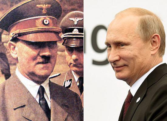 Путин не видит ничего плохого в том, что СССР подписал пакт с Гитлером