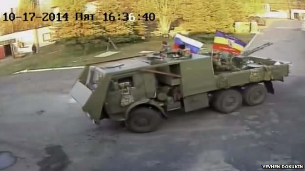 Ukrainian hackers say they hijack CCTV cameras to monitor separatist troop movements