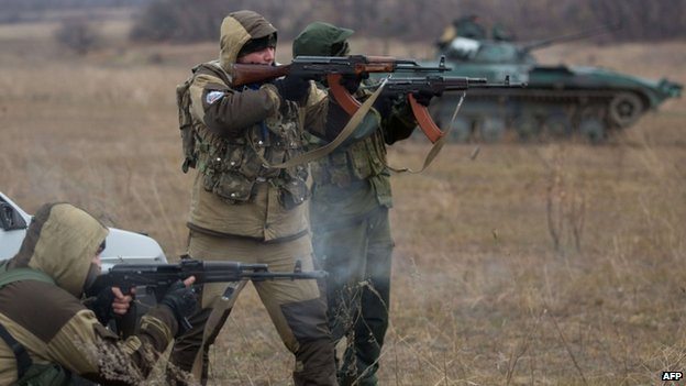 Russia denies that any of its servicemen are fighting among the separatist ranks in eastern Ukraine