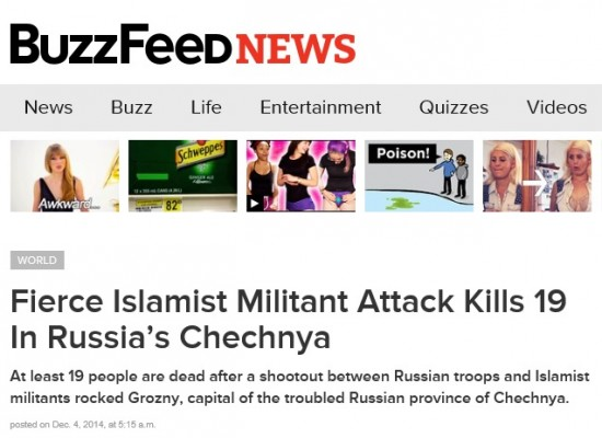 Russia Threatens To Ban BuzzFeed