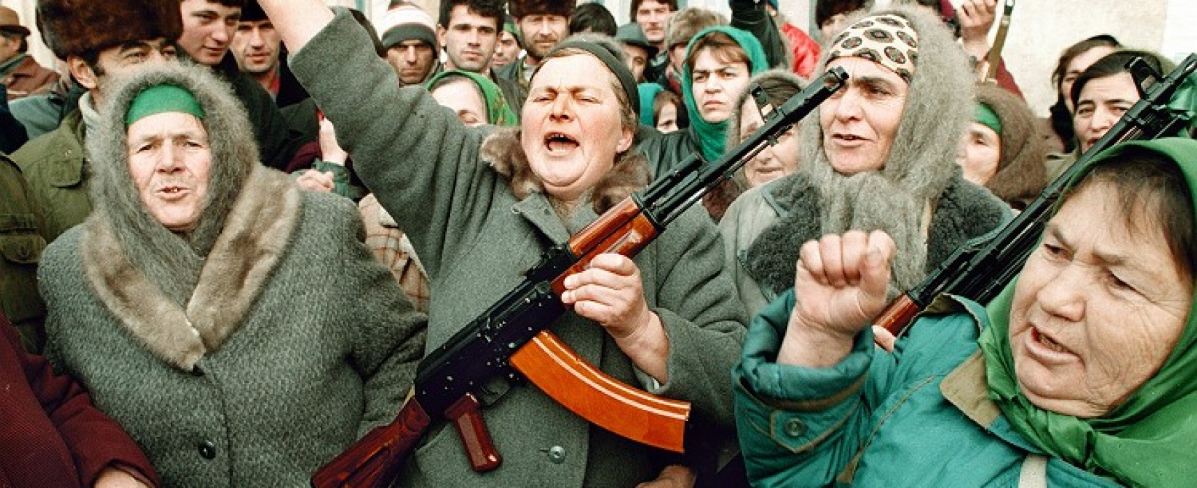 Photo from Chechnya Dated 1994 is Presented as Depicting Actual Events in Rostov